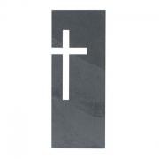 Schieferrelief Kreuz