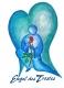 31 418 - Grußkarte - Engel des Trostes