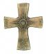 Ich bin das Licht der Welt - Bronzekreuz